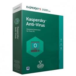 Program securitate Kaspersky anti virus 2018 , 3 utilizatori , 12 luni , retail