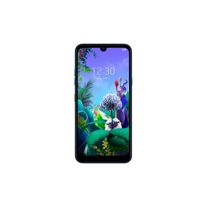 Smartphone LG Q60, Dual Sim, 6.26 Inch, Mediatek MT6762 Octa Core, 3 GB RAM, 64 GB, Triple Camera, Android Pie, Moroccan Blue