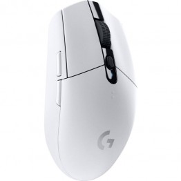 Mouse gaming Logitech G305 Lightspeed, Wireless, 12000 DPI, Alb