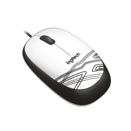 Mouse Logitech M105 , USB , Optic , 1000 DPI , Alb