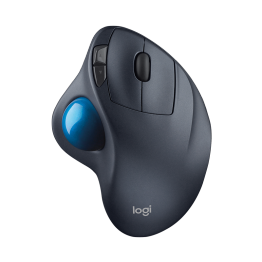 Mouse Logitech M570 Trackball , Wireless , 540 DPI , Laser , Negru