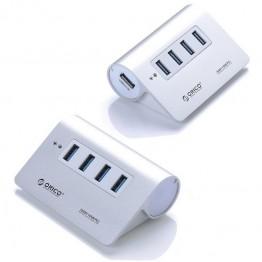 HUB USB 3.0 Orico M3H4 Argintiu