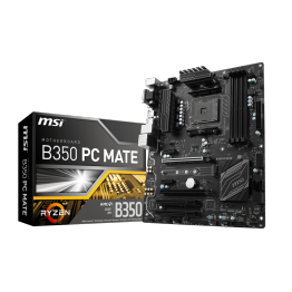 Placa de baza MSI B350 PC Mate , ATX , AMD B350 , AM4