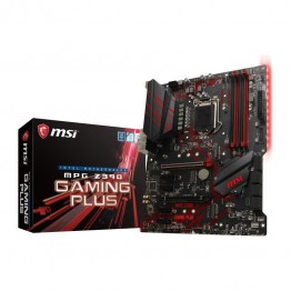 Placa de baza MSI MPG Z390 Gaming Plus, ATX, Intel Z390, LGA 1151 v2