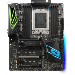 Placa de baza MSI X399 SLI Plus , ATX , AMD X399 , socket TR4