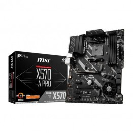 Placa de baza MSI X570-A Pro, ATX, AMD X570, AM4
