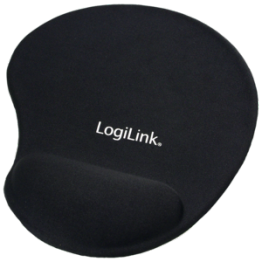Mouse pad Logilink silicon Negru