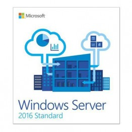 Sistem de operare Microsoft Windows Server Standard 2016 , Engleza , DVD , 16 Core