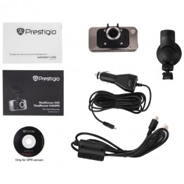 Camera video auto Prestigio RoadRunner 545 GPS , FullHD 1080p , Senzor gravitational , Senzor miscare , Negru