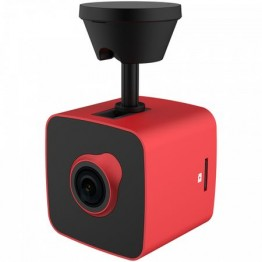Camera video auto Prestigio RoadRunner Cube 530 , Full HD , Negru cu rosu
