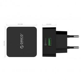 Incarcator retea USB Orico QCK-1U Negru