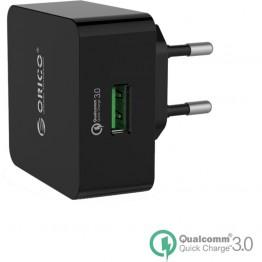 Incarcator retea USB Orico QTW-1U Negru