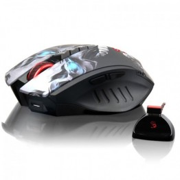 Mouse A4Tech Bloody R80 , 4000 DPI , Optic , Wireless , Gaming , Ambidextru , Negru