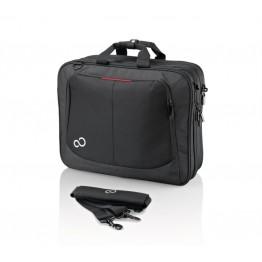 Geanta laptop Fujitsu Prestige Case, 17.3 Inch, Poliester, Negru