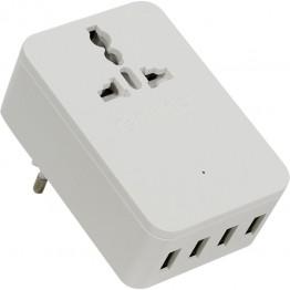 Incarcator retea USB Orico S4U-TEU PRO Alb