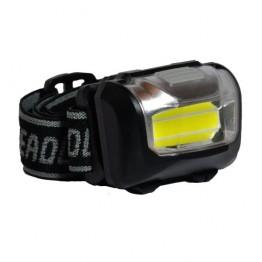 Lanterna LED Spacer, De cap, Negru