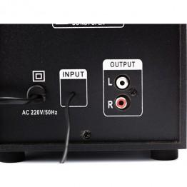 Boxe 2.1 Spacer SPB-2200 , Putere RMS 11 W , Control volum si bass , Negru