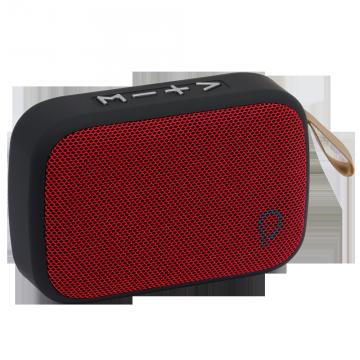 Boxa portabila Spacer Pocket, Bluetooth 4.2, Putere 3W, Rosu