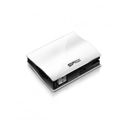 Cititor de carduri Silicon Power All In One , USB 2.0 , Alb