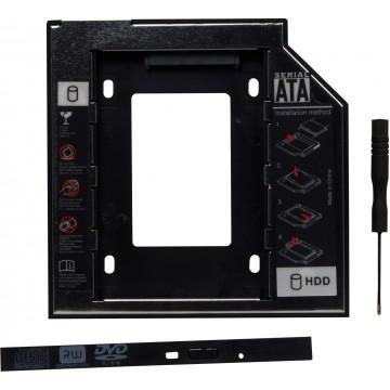 Adaptor Spacer, Caddy HDD/SSD pentru unitate optica