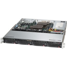 Server Supermicro 6018R-MTR , Rack 1U Barebone , Intel Xeon E5-2600 v3 , Fara sistem operare