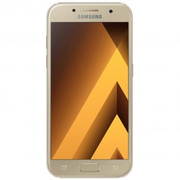Smartphone Samsung Galaxy A3 A320 2017 , 4.7 Inch , Octa Core , 2 GB RAM , 16 GB , Retea 4G , Android Marshmallow , Gold
