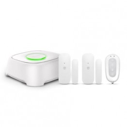Sistem alarma wireless Smanos L020 , Unitate centrala W020 , Detector usa DS2300 , Telecomanda RE2300