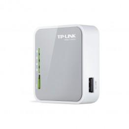 Router wireless TP-Link TL-MR3020 , Portabil , 150 Mbps , 802.11 b/g/n , Retea 3G , Alb