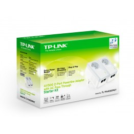 Powerline TP-Link 10/100 Mbps TL-PA4020PKIT