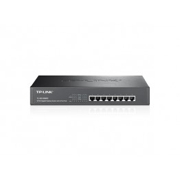 Switch TP-Link SG1008PE , 10/100/1000 Mbps , 8x RJ-45