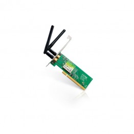 Placa de retea wireless TP-Link TL-WN851ND , PCI , 300 Mbps