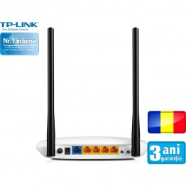 Router wireless TP-Link TL-WR841N , 802.11 b/g/n , 300 Mbps