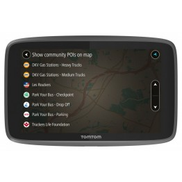 GPS camion TomTom Go Professional 620, 6 Inch, Harta Europa, WiFi si Bluetooth integrat