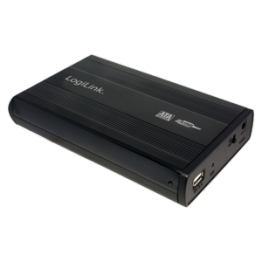 Rack extern Logilink UA0082, USB 2.0, 3.5 Inch, Negru