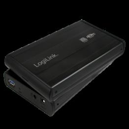 Rack Logilink extern USB 3.0 3.5 Inch Negru