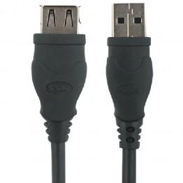 Cablu SSK USB 2.0 Negru