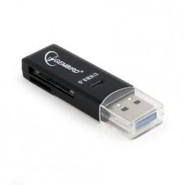 Cititor de carduri Gembird UHB-CR3-01 , USB 3.0 , Negru