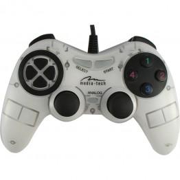 Gamepad Media-Tech Corsair II , PC , Alb