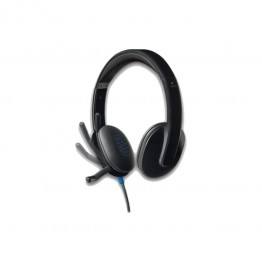 Casti audio Logitech H540 , USB , Peste Cap , Microfon , Negru