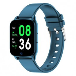 Smartwatch iHunt Watch Me 2020, 1.3 Inch, Pedometru, Masurare ritm cardiac, Compatibil iOS si Android, Blue