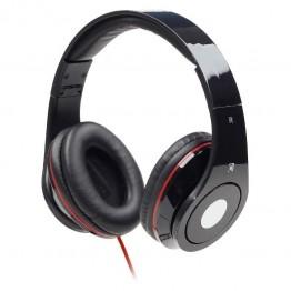 Casti audio Gembird Detroit , 3.5 mm Jack TRRS , Peste cap , Negru