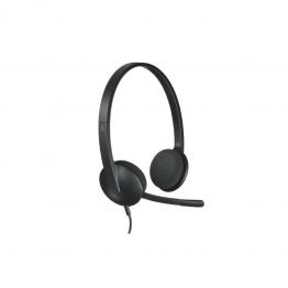 Casti audio Logitech Headset H340 , USB , Peste cap , Negru