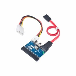 Adaptor Gembird de la 1x IDE Female - 1x SATA Male si 1x Molex Male bidirectional