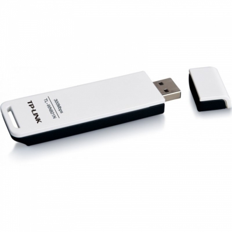 Adaptor retea wireless TP-Link TL-WN821N , USB , 300 Mbps