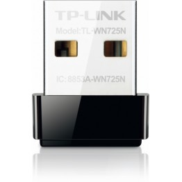 Adaptor retea wireless TP-Link TL-WN725N , USB , 150 MBps , 802.11 b/g/n