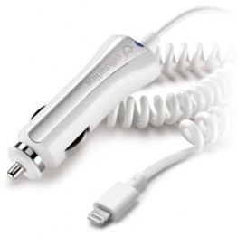 Incarcator auto cu cablu pentru iPhone Cellular Line