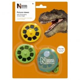 Aparat de vizualizat diapozitive cu dinozauri Natural History Museum