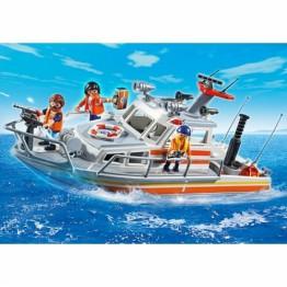 Barca de salvare Playmobil