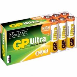 Baterii ultraalcalina GP 16 Buc AAA R3