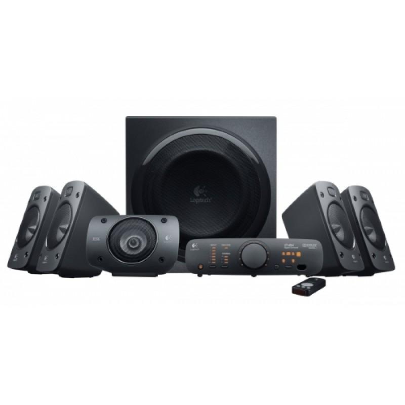 Boxe 5.1 Logitech Z906 , Putere RMS 500W , 3D Stereo , Negru
